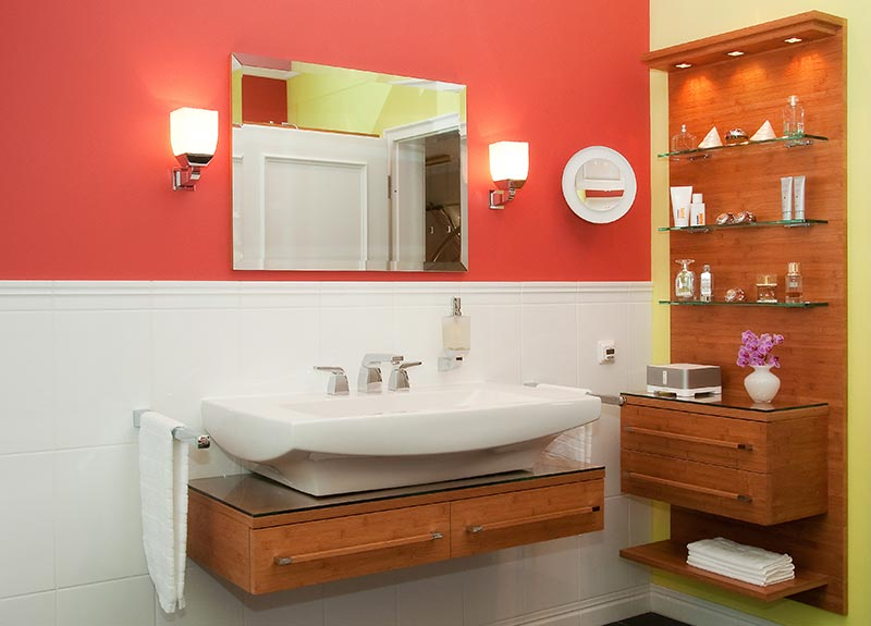 ... Und Alles Was Sie Sich Für Ihr Perfektes Badezimmer Wünschen. Von  Natürlichem Holz, Farbigen Dekoroberflächen Oder Lack Haben Sie Auch Hier  Die Wahl.